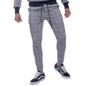 Comprar Pantalon Uniplay 3296 Cuadros Black